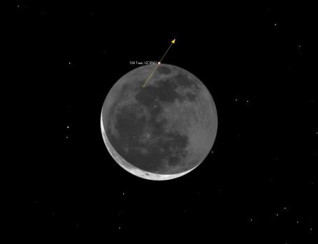 月掩天高增一