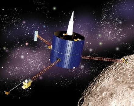 19年前今日月球探勘者撞擊月球南極隕石坑