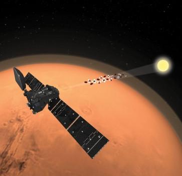 歐洲太空總署火星探測計劃意外發現火星甲烷不見了