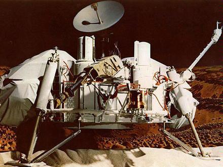 43年前今日維京二號太空船登陸火星